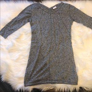 Sweaters - Wool blend sweater dress